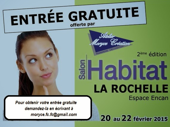 L 39 atelier moryce creation marbrerie d coration salon de for Salon habitat la rochelle