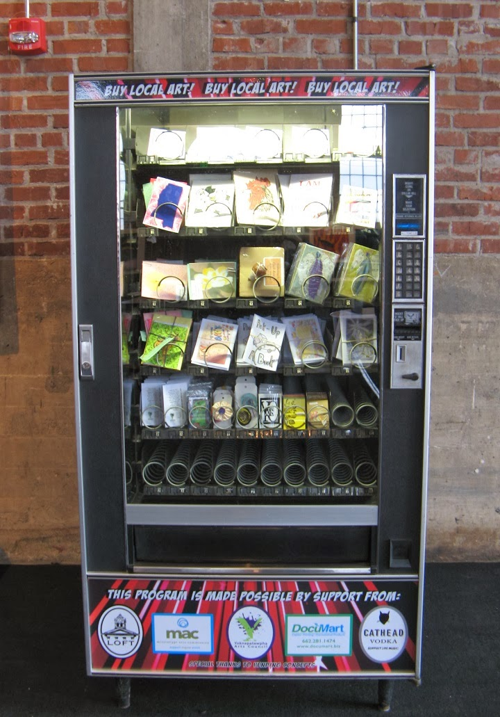own a vending machine