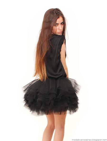 Viuda Negra otoño invierno 2012. Blog de moda argentina.