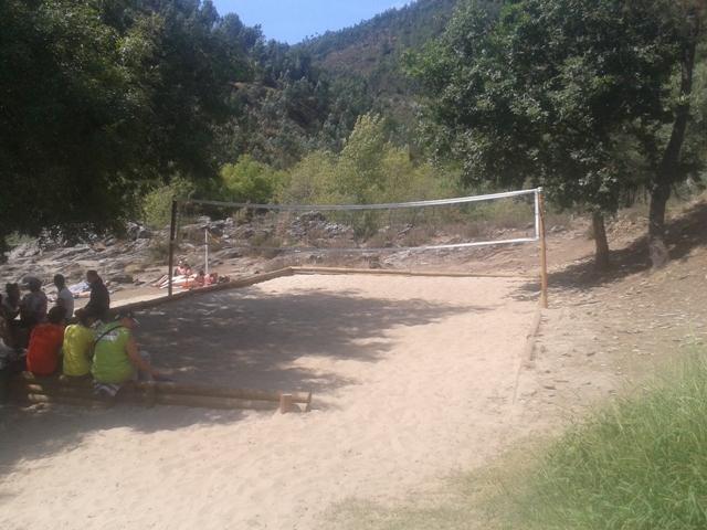 Campo de Voleibol da Praia do Areinho