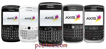 harga paket blackberry axis terbaru