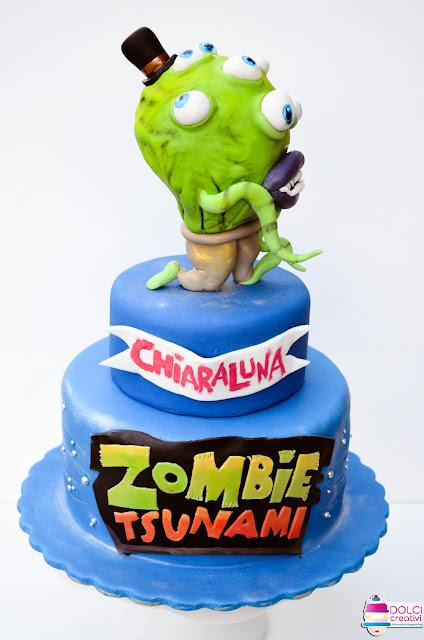 Torta Zombie Tsunami