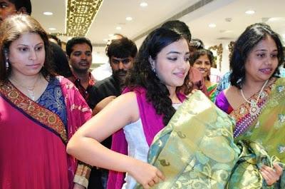 Deeksha Seth and Nithya Menon at Studio Manthir Launch