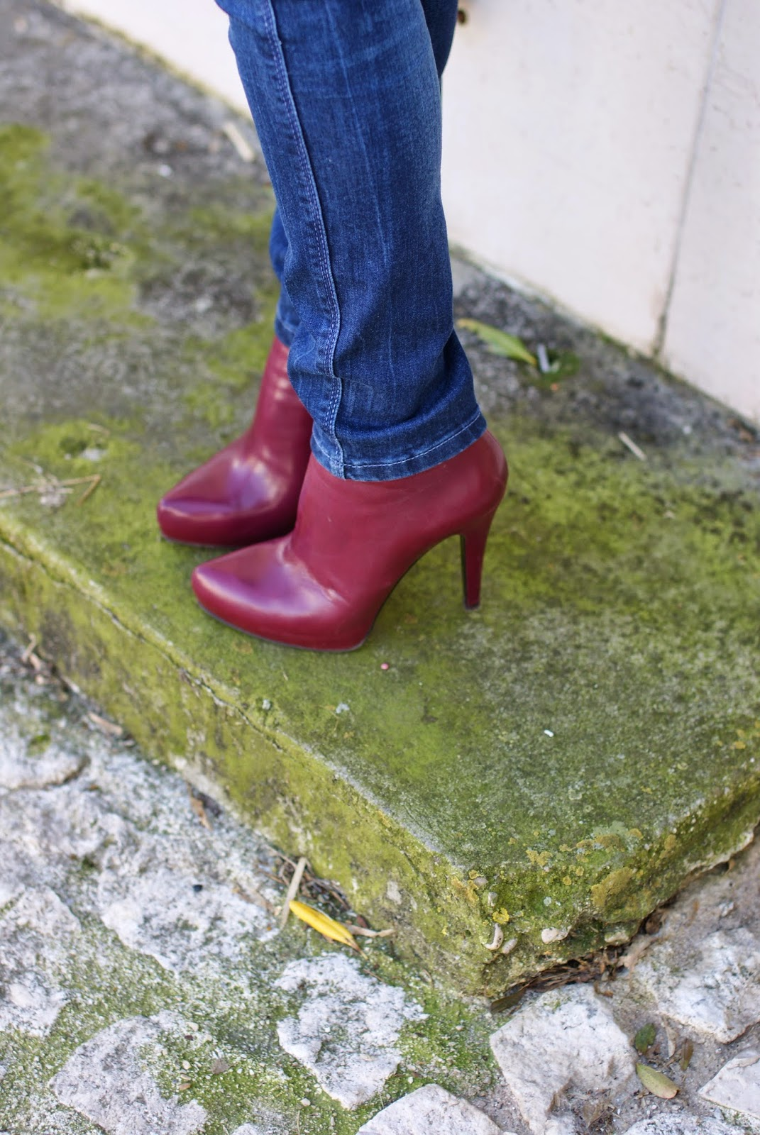 burgundy ankle boots, stivaletti Icone, Fashion and Cookies fashion blog, fashion blogger