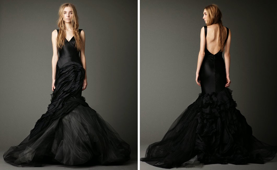 Vera Black Wedding Dress