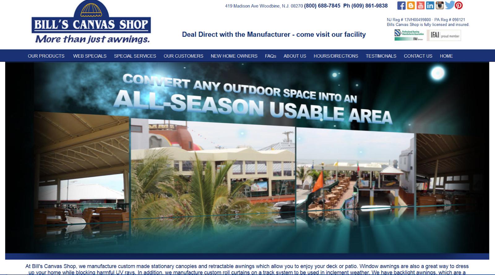 billscanvasshop.com