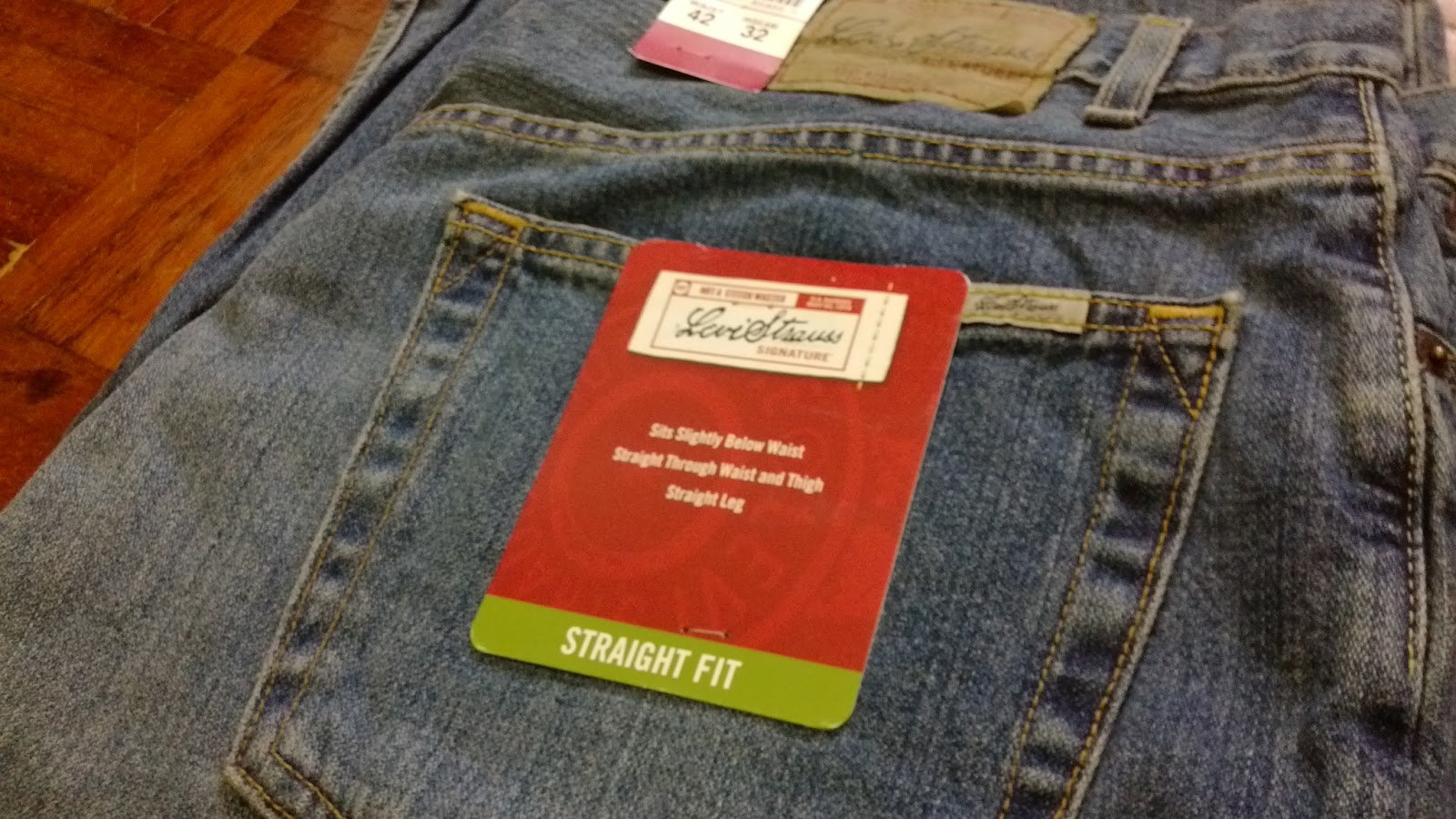 Jeans By Example Levis Signature W42 L32 New With Tags