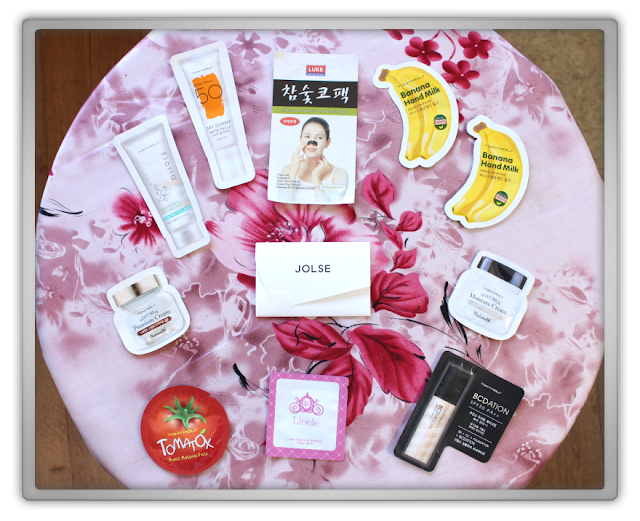 Jolse Order #12 Skincare Haul Review 2015 beauty blogger Etude House innisfree dreaming swan brush case sebum blur jeju balm nail samples