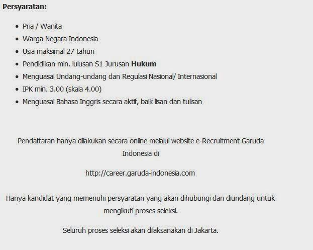 loker garuda indonesia surabaya terbaru maret 2014