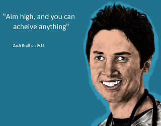 zach braff quote on 9/11