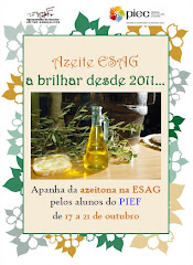 AZEITE ESAG - A BRILHAR DESDE 2011 (Projecto AISC)