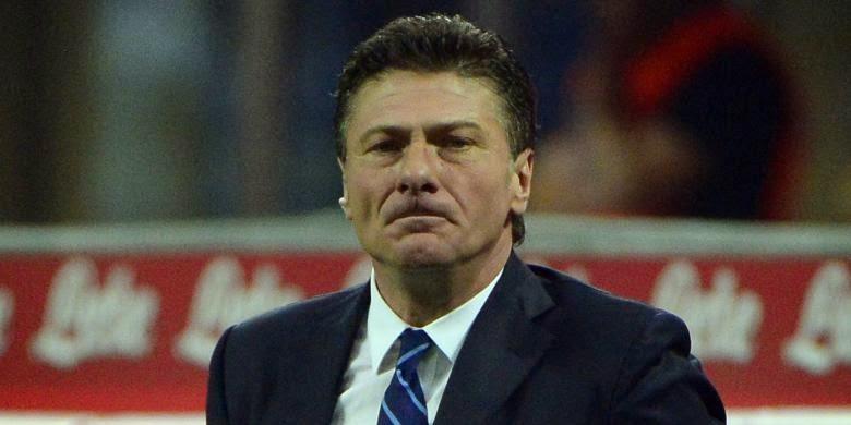 Pelatih Inter Milan Walter Mazzarri