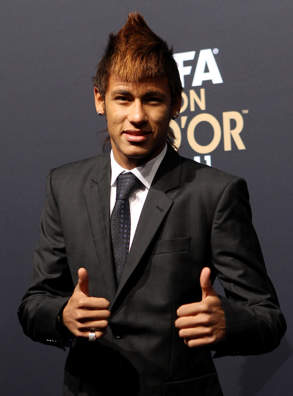 Neymar Da Silva Hairstyle 2013/14