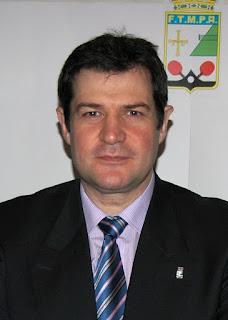Presidente de la Federación de Tenis de Mesa del Principado de Asturias