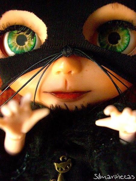 cómo hacer disfraz de gato para halloween