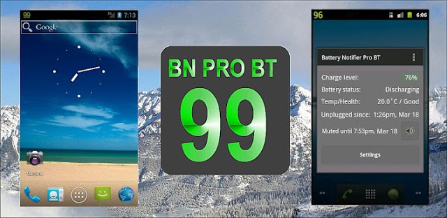 Battery Notifier Pro BT v2.1.8 APK
