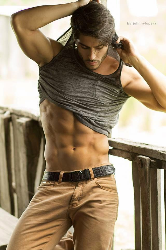Bruno Santos Model Bruno Santos in Casual Wear |