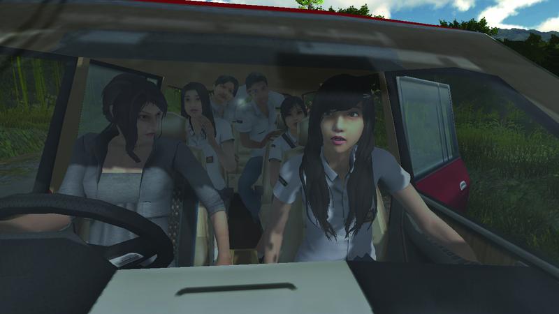 Game petualangan horor para pelajar