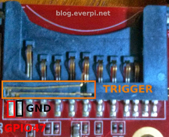 Trigger do slot sd