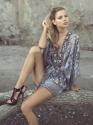 Danielle Kn Zeugari Swimwear Photoshoot