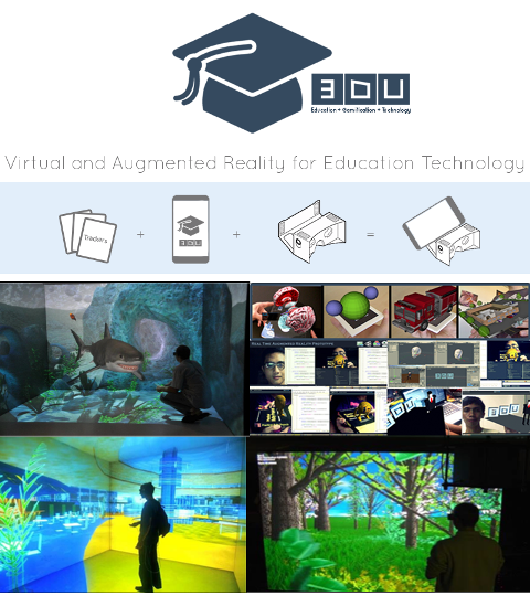 1st Prize winner 3DU's immersive virtual university app