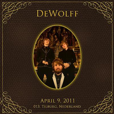 DEWOLFF 2011-04-09 Tilburg, Nederland