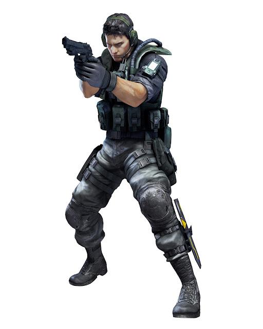 abaixo 6 novas artes dos personagens de Resident Evil Revelations