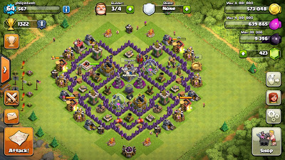 Farming Base Th8