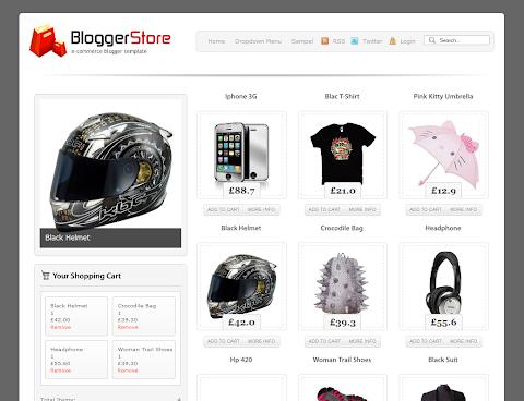 Blogger Store Blogger Theme