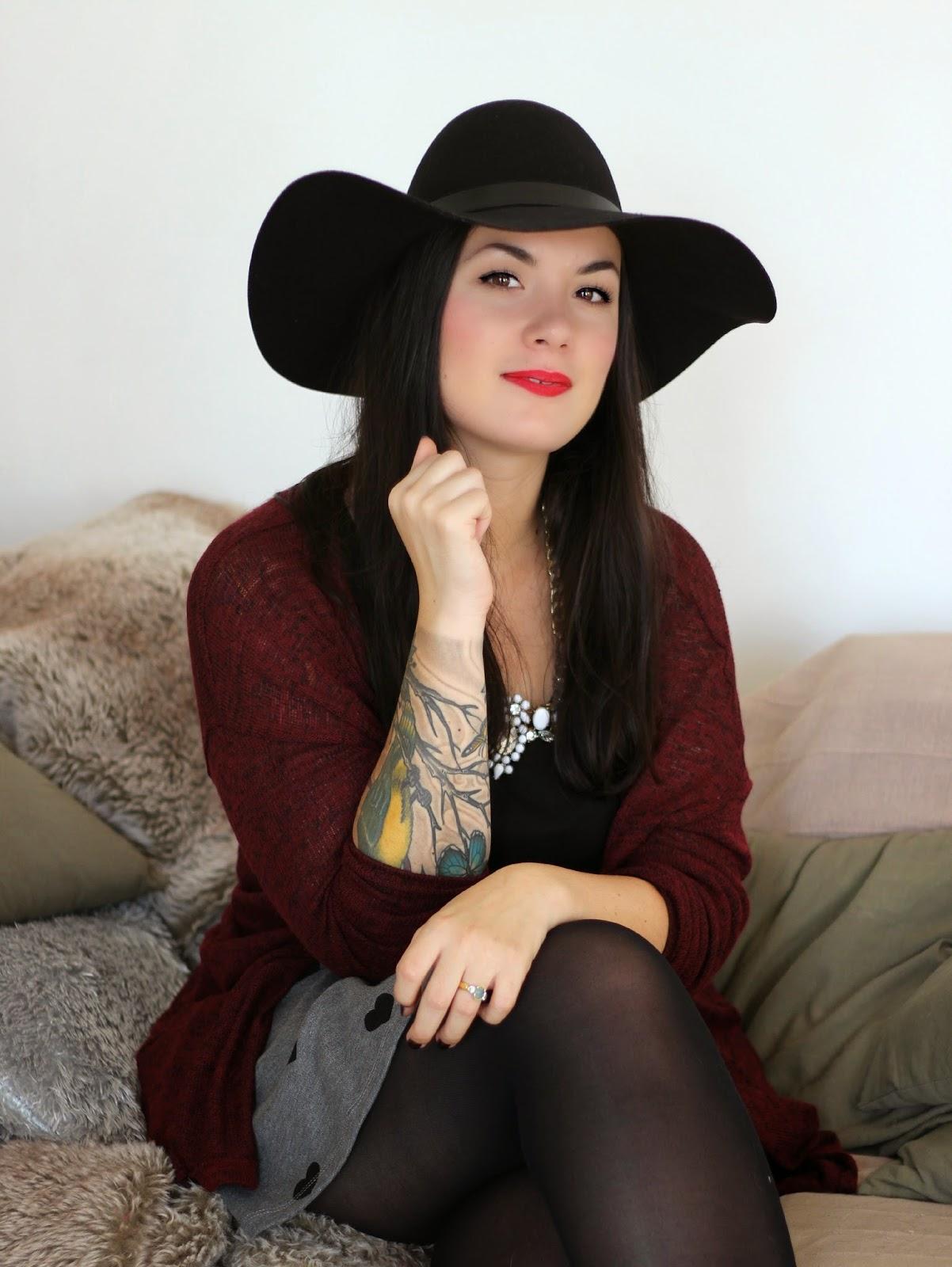 Mon Chapeau H&m Puis Mes