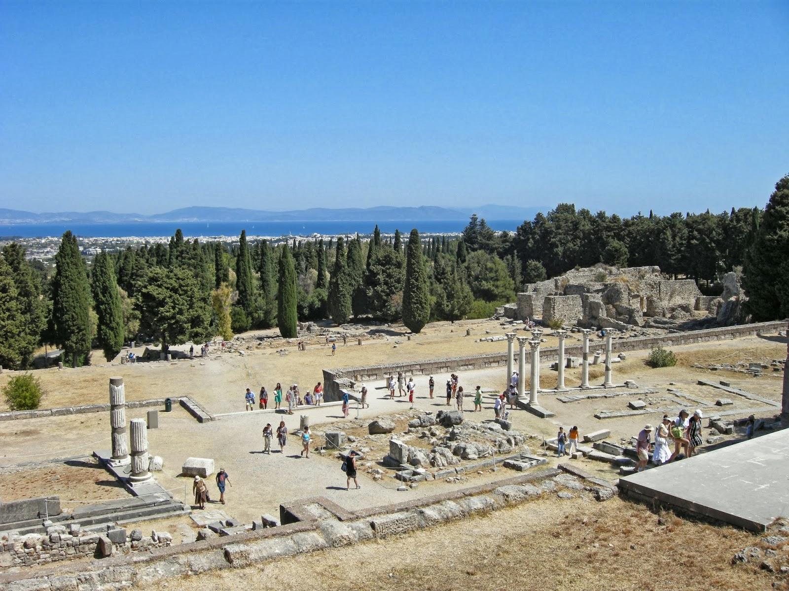 BIKE CLASSICAL: Kos and the Ancient Asklepieion!