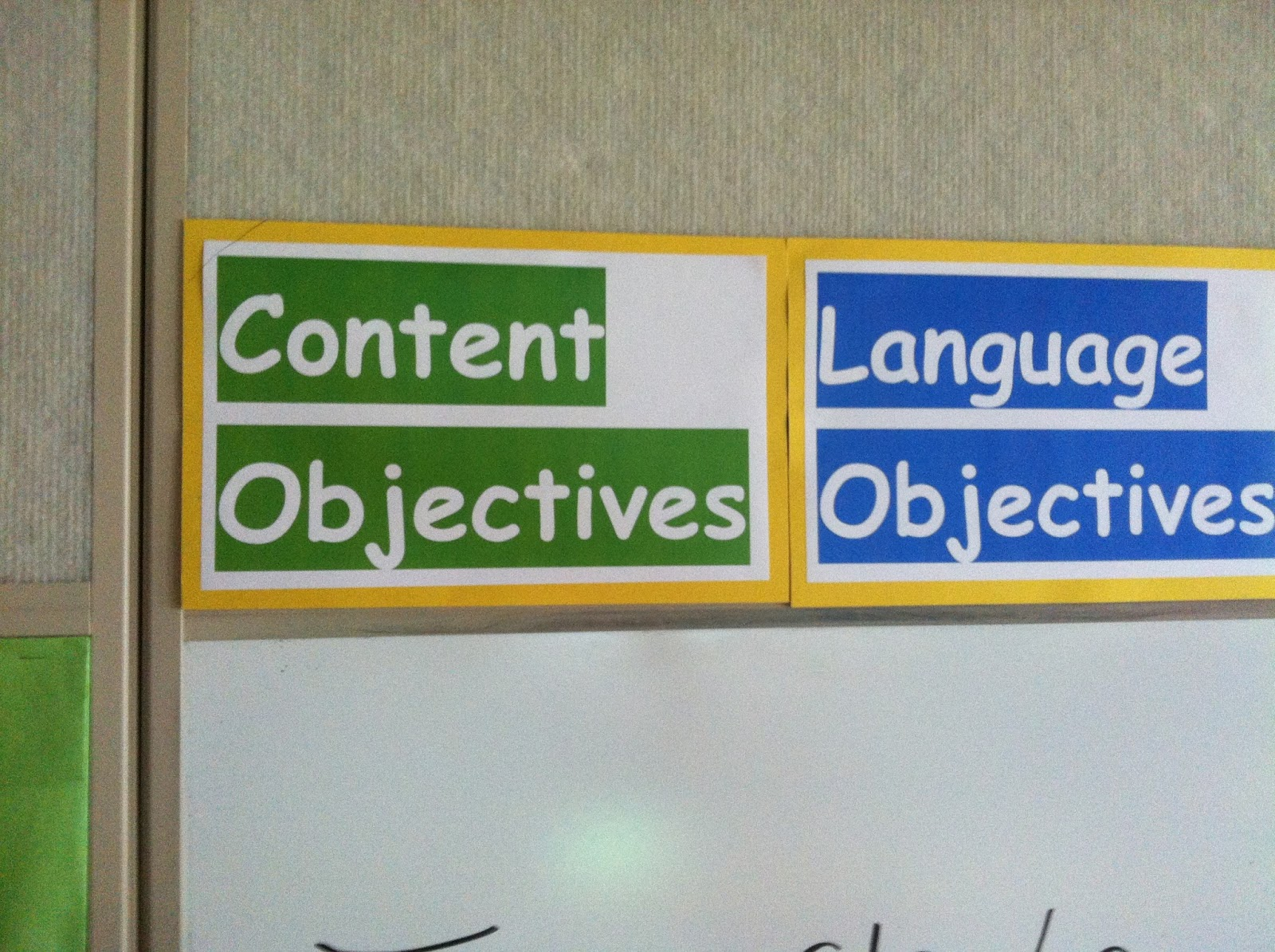 Language and Content Objectives-6th Day of School | HCPS Secondary ...