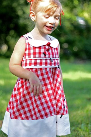 picnic Blanket Dress DIY