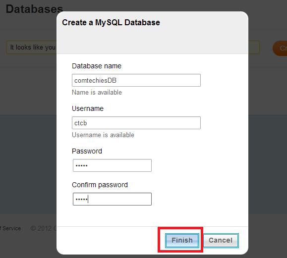 how to find port for mysql database