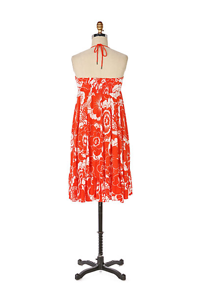 Anthropologie Clementine Halter Dress
