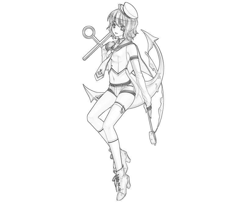 minamitsu-murasa-weapon-coloring-pages