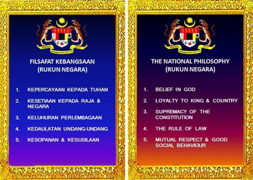The Hengs Family Rukun Negara A Declaration Of The National Philosophy