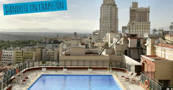 5 formas de ver madrid desde las alturas don 39 t stop madrid - Piscina hotel emperador ...