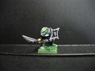 Skaven pintado de la caja de Warhammer Fantasy Regiment