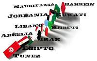 Efecto domino en el mundo arabe