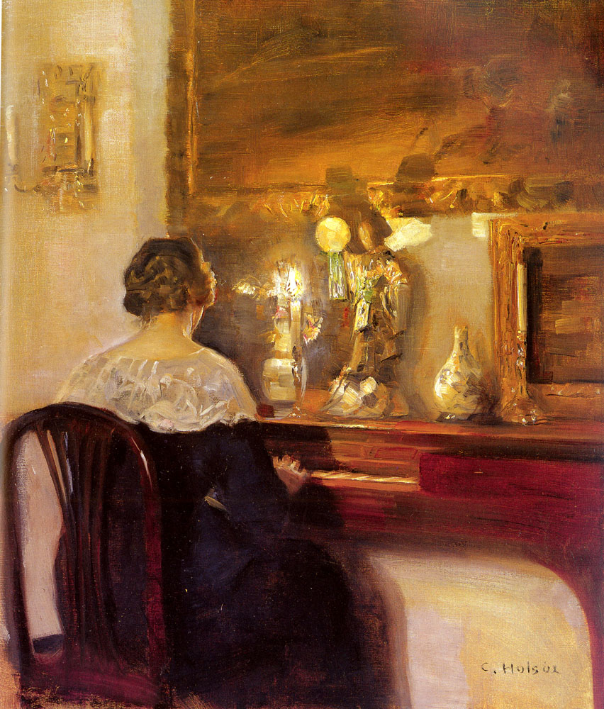 carl wilhem holsoe painting