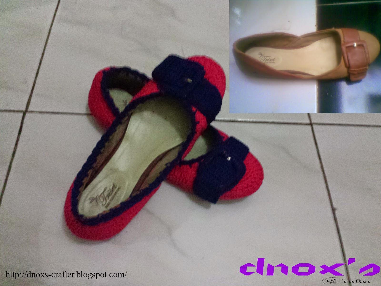 Sepatu rajut Triset