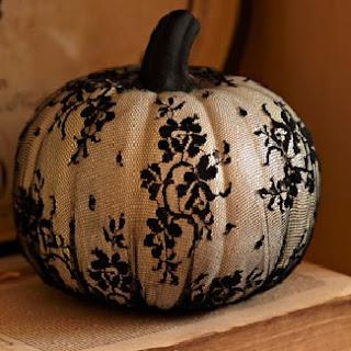 Lace Pumpkin by BHG
