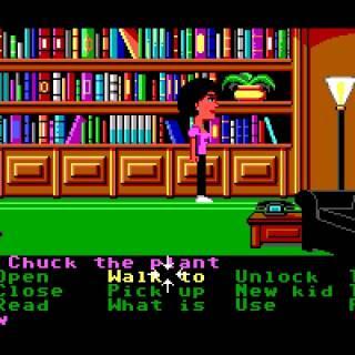 Maniac Mansion huevo de pascua planta Chuck