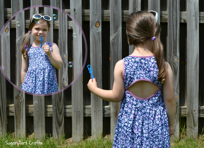 The Soleil Dress Pattern by Lauren Dahl