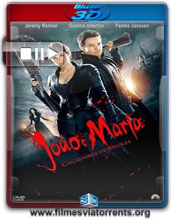 João e Maria: Caçadores de Bruxas Torrent - BluRay Rip 1080p 3D HSBS Dual Áudio 5.1 (2013)