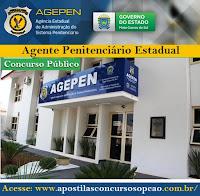 Apostila AGEPEN (Segurança e Custódia) MS (Agente Penitenciário).