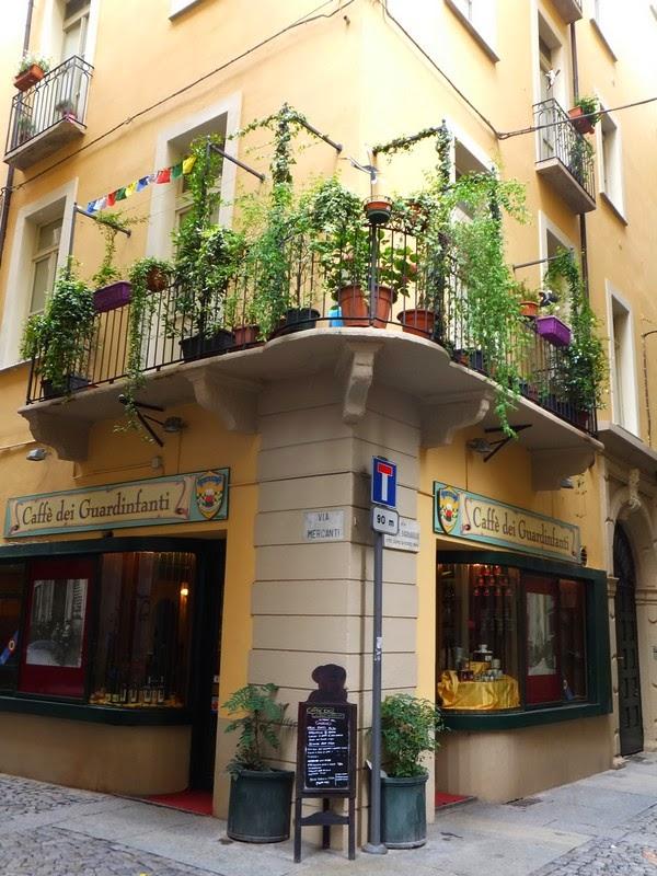 Turin Italie Via Garibaldi balade