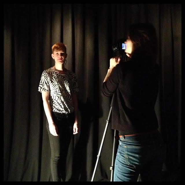Maja Svisdahl og fotograf Kristine Moen