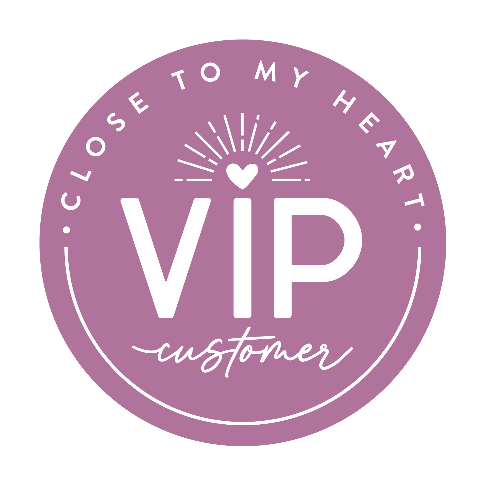 Click here to be a VIP Customer!
